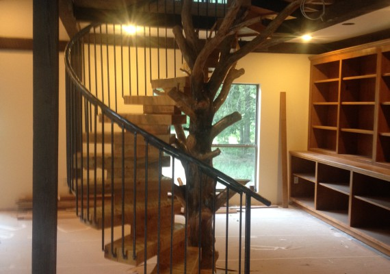 Log & Timber Staircases