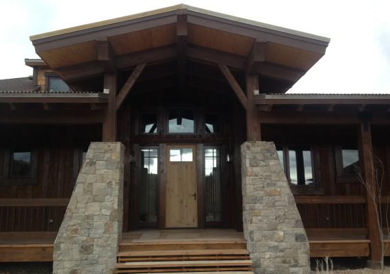 Timber Entryways